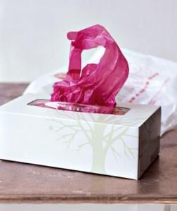 Органайзер для пластиковых пакетов