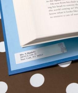 Стикер для книги