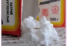 Польза соды в быту