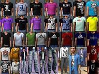 новая модная одежда