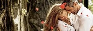 Романтическая фото сессия для молодоженов